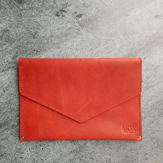 Поясная сумка из кожи Maple red