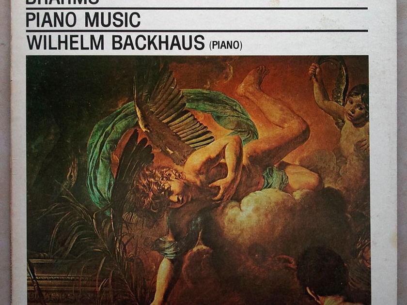 London ffrr   BACKHAUS/BRAHMS - Piano Music / NM