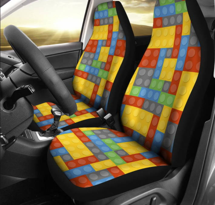 LEGO car seat cover