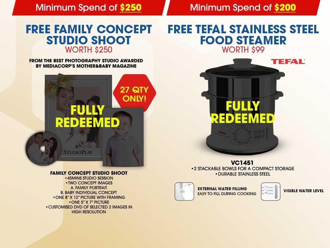 Free Tefal Stainless Steel Food Steamer