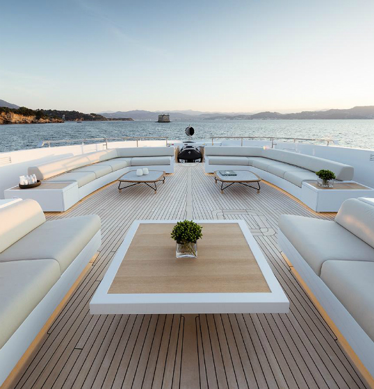 Dubai - Ibiza Magna leads the table of the top 10 most expensive marinas in Europe once again in 2018. This is shown in a current ranking conducted by Engel & Völkers Yachting. The survey data is based on basic fees for a mooring berth for a 55-metre yacht during the 2018 high season in each location. (Image source: Engel & Völkers Yachting)