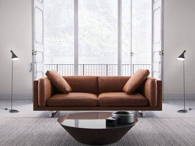 Modloft Fulton Three Seater Sofa, featured in Lion