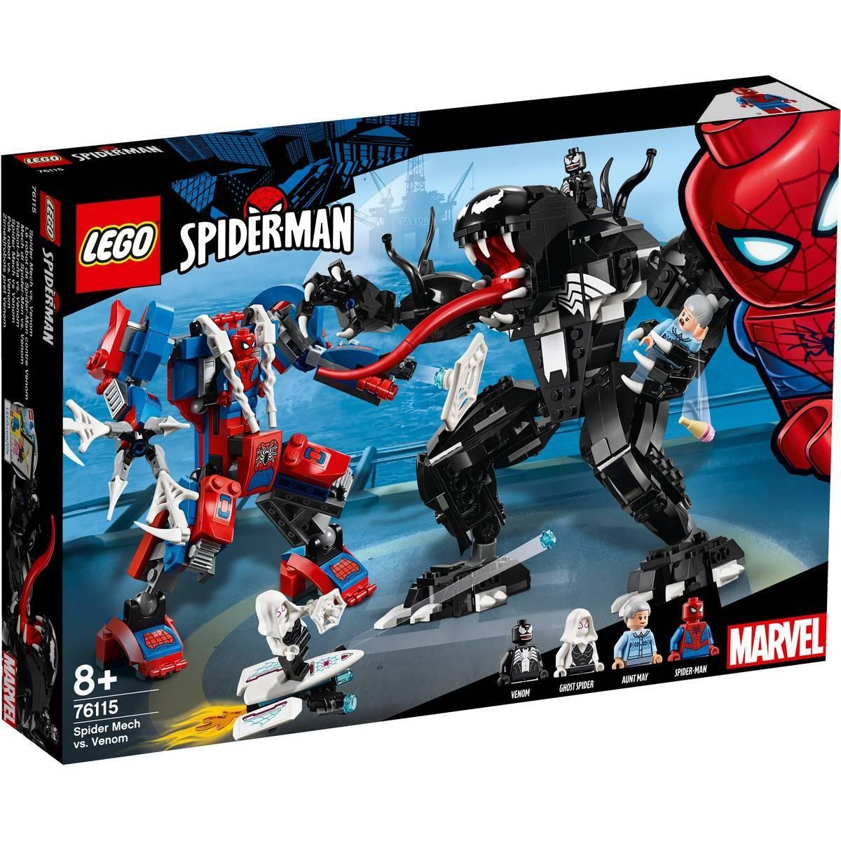LEGO SPIDER MECH VS. VENOM