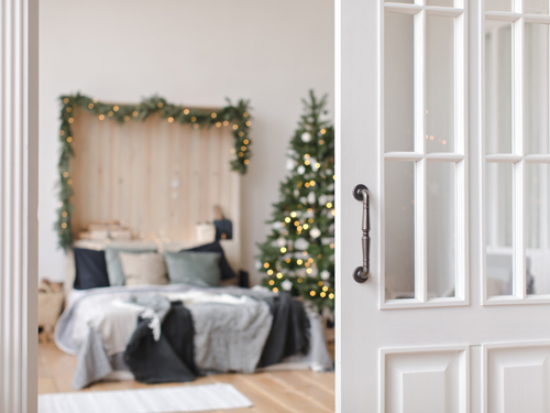 Decorating the guest room – Christmas decoration ideas