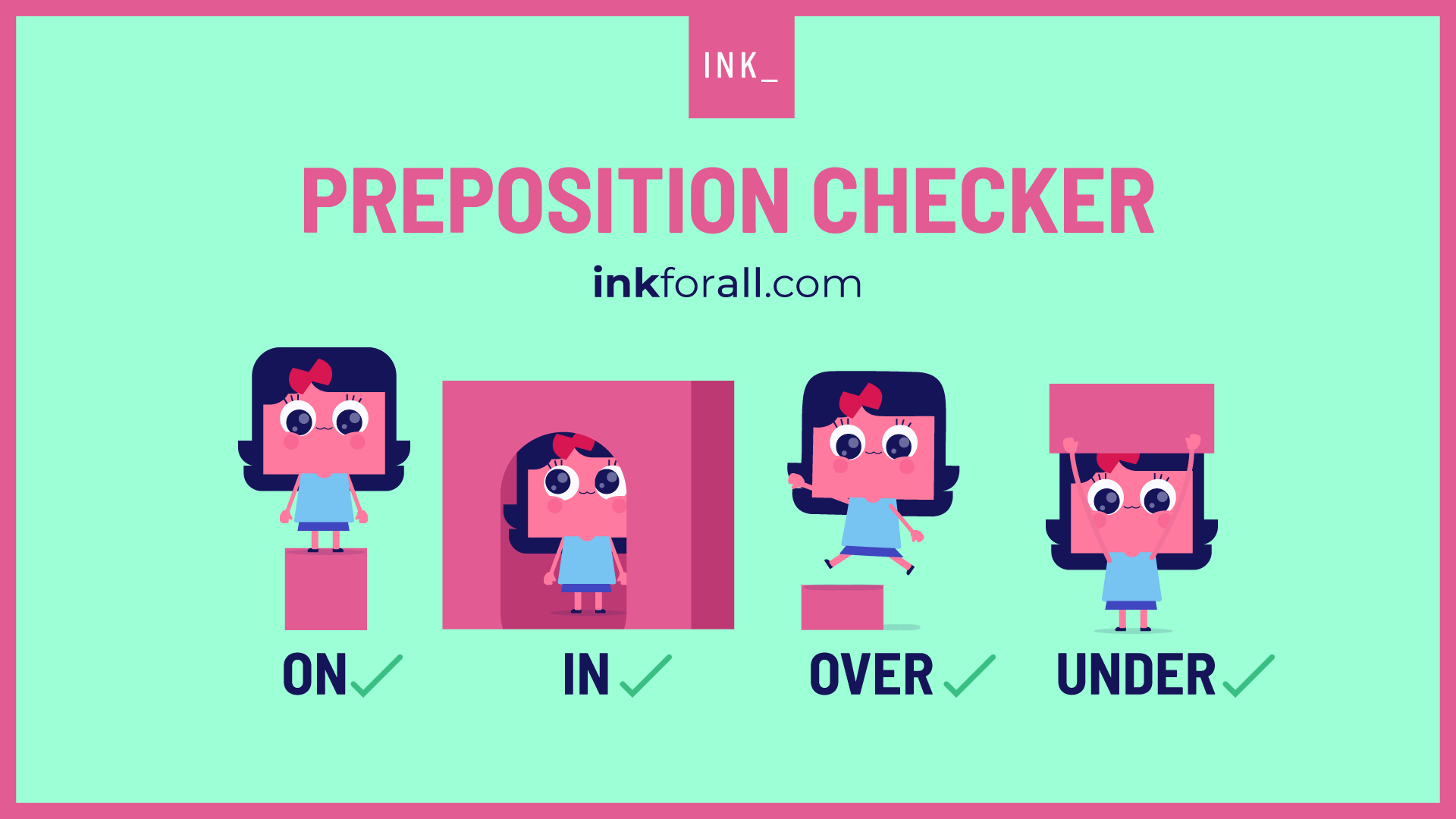 Preposition checker