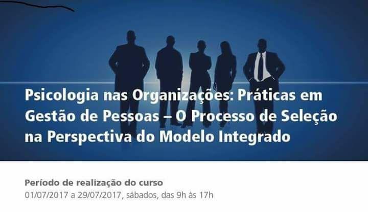 Prática em gestão de pessoas-  O processo de seleção na perspectiva do modelo integrado
