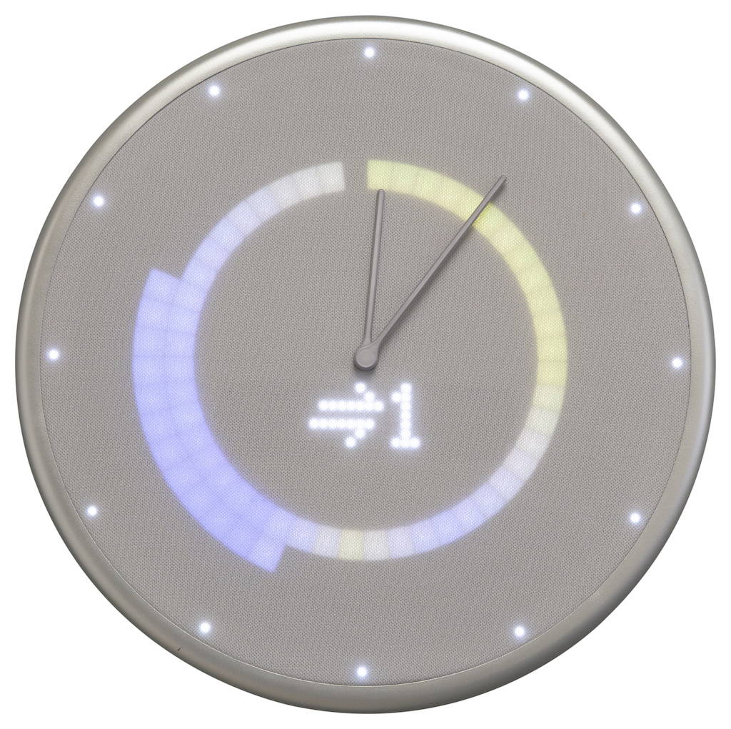 Glance clock Weather Humidity