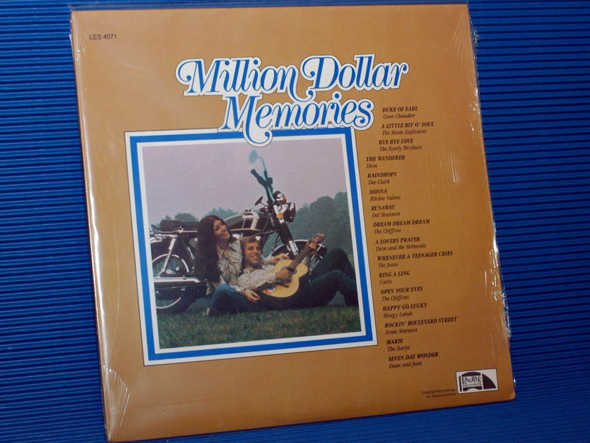 """VARIOUS OLDIES -  - """"Million Dollar Memories"""" -  Laurie 1985 Sealed"""