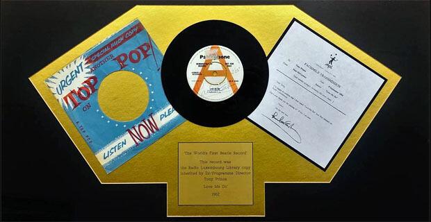 Впервые проигранную по радио пластинку The Beatles выставят на торги в Великобритании - Новости радио OnAir.ru