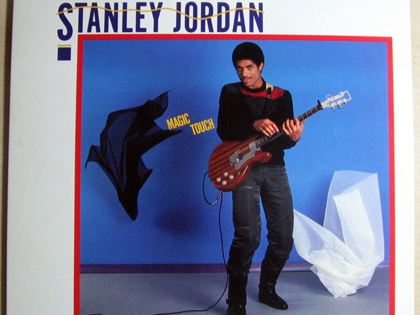Stanley Jordan - Magic Touch - STERLING Mastered 1985 Blue Note BT 85101