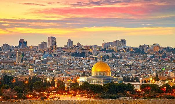 Иерусалим и мертвое море