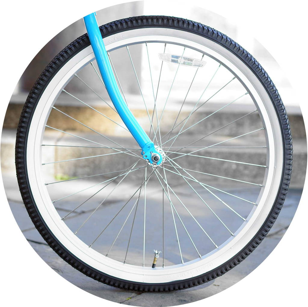 Classic Front Whitewall Tire