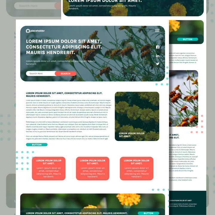 Marigold template's featured image