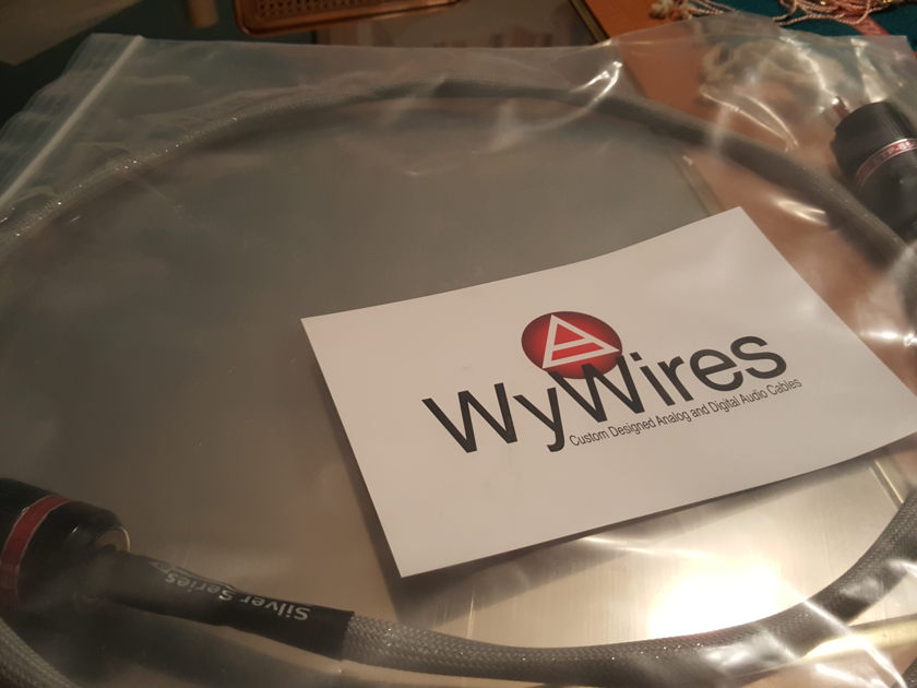 WyWires, LLC juice 2 power cord  silver series