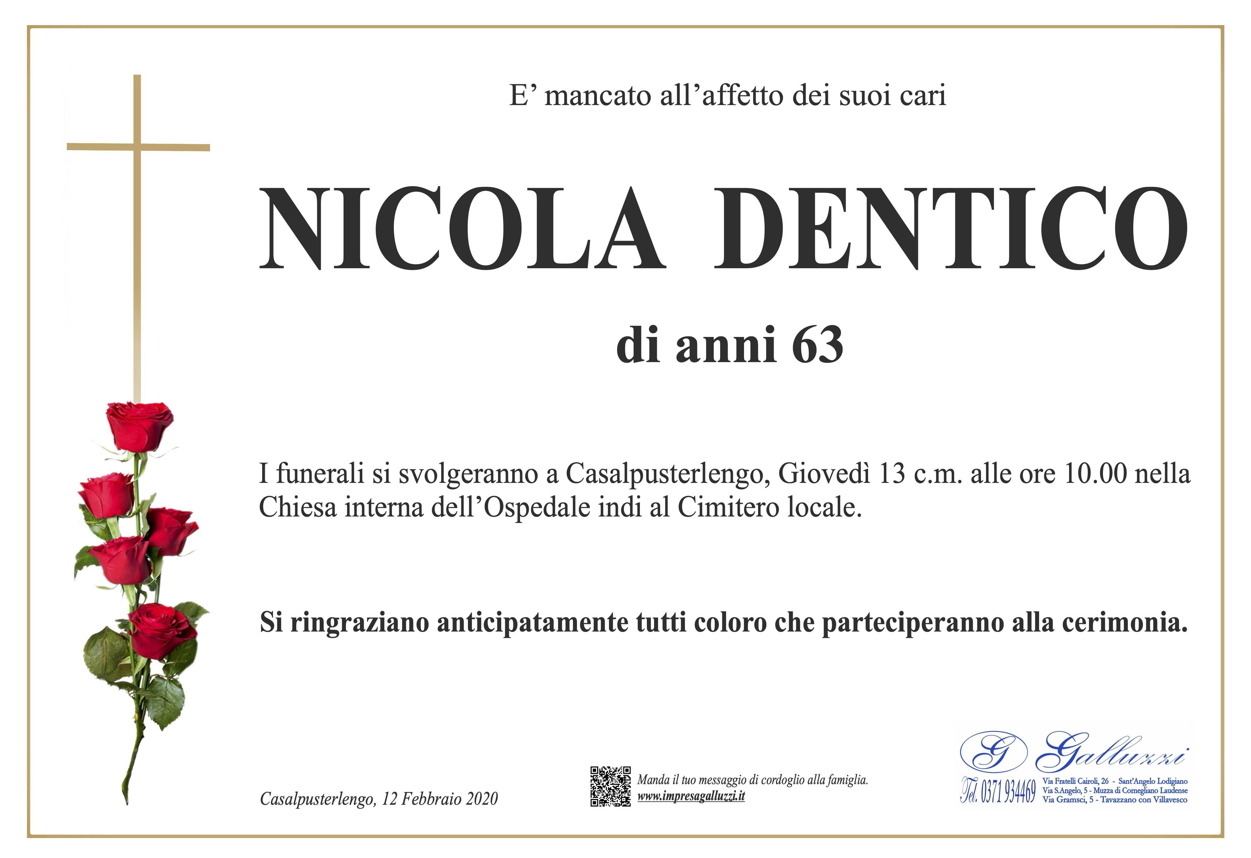 Nicola Dentico