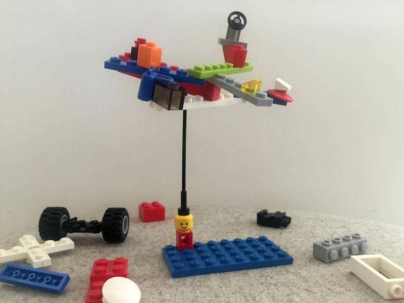 LEGO improves creativity