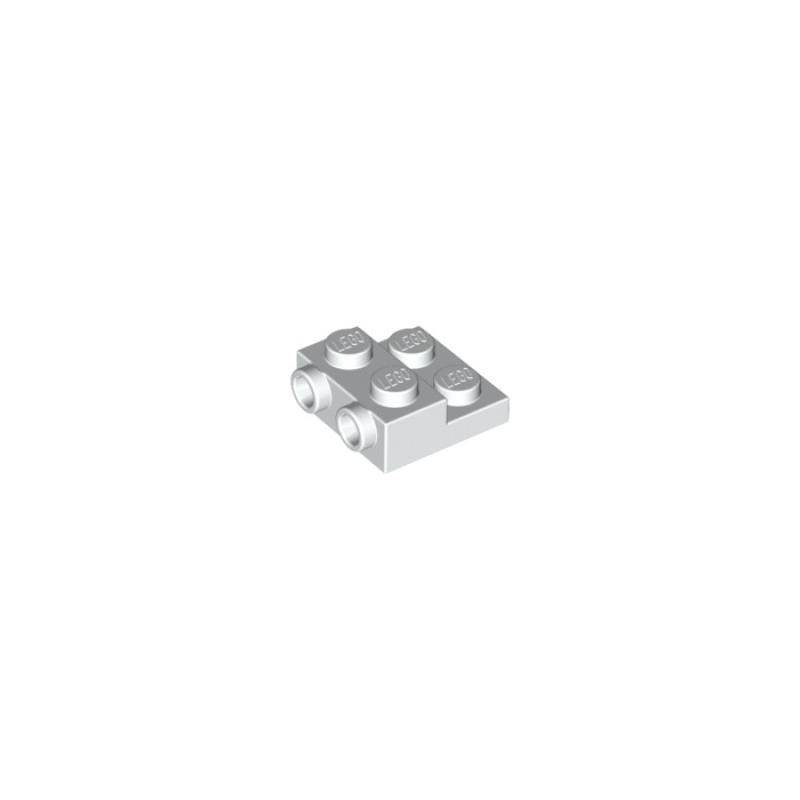 Plate 2x2x2/3 with 2 Horizontal Knobs