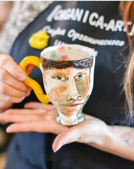 Чашки Ван Гог