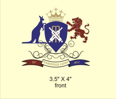 Mansfield Lion cricket club Logo