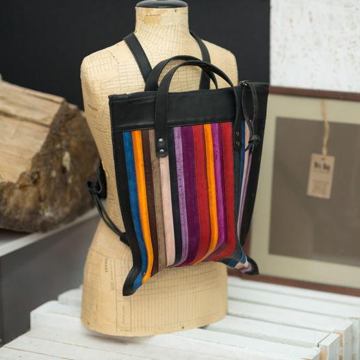 Сумка-рюкзак MRS.BAG из коллекции MACARON. Под заказ.