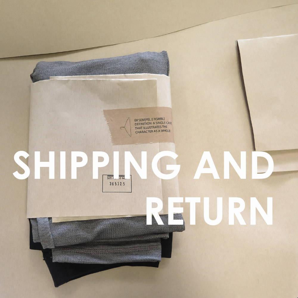 shipping and return