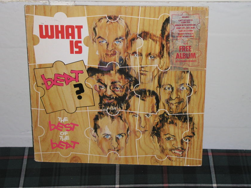 The English Beat - What Is Beat UK import 2LP set.
