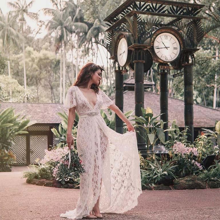 Elizabeth Grace couture dress
