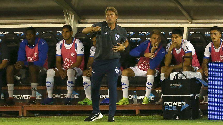 Superliga Argentina: Declaraciones del entrenador de Vélez