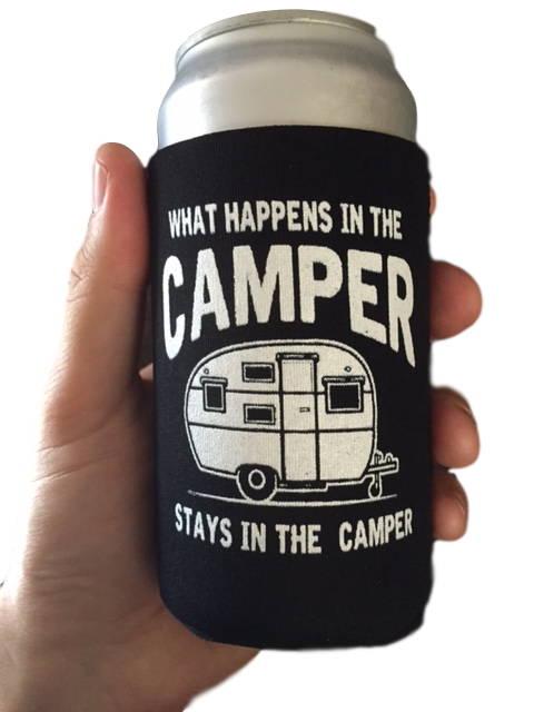 happy camper, camping bangle bracelet, charm bracelet