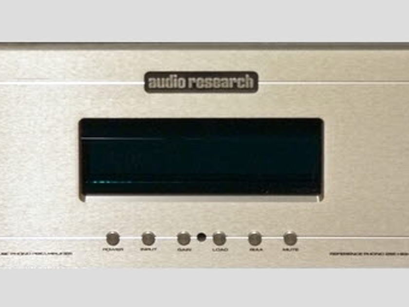 Audio Research Reference Phono 2 SE Silver New in box w/ warranty. Last one remaining.