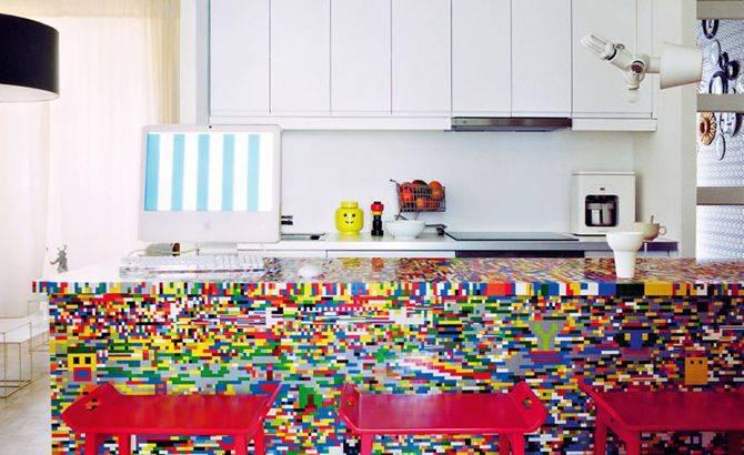 lego kitchen top