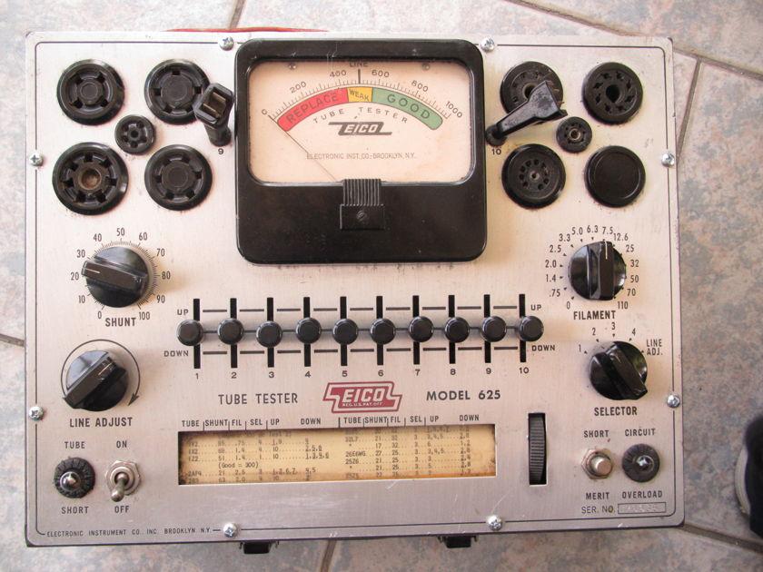 EICO  625 VACUUM TUBE TESTER
