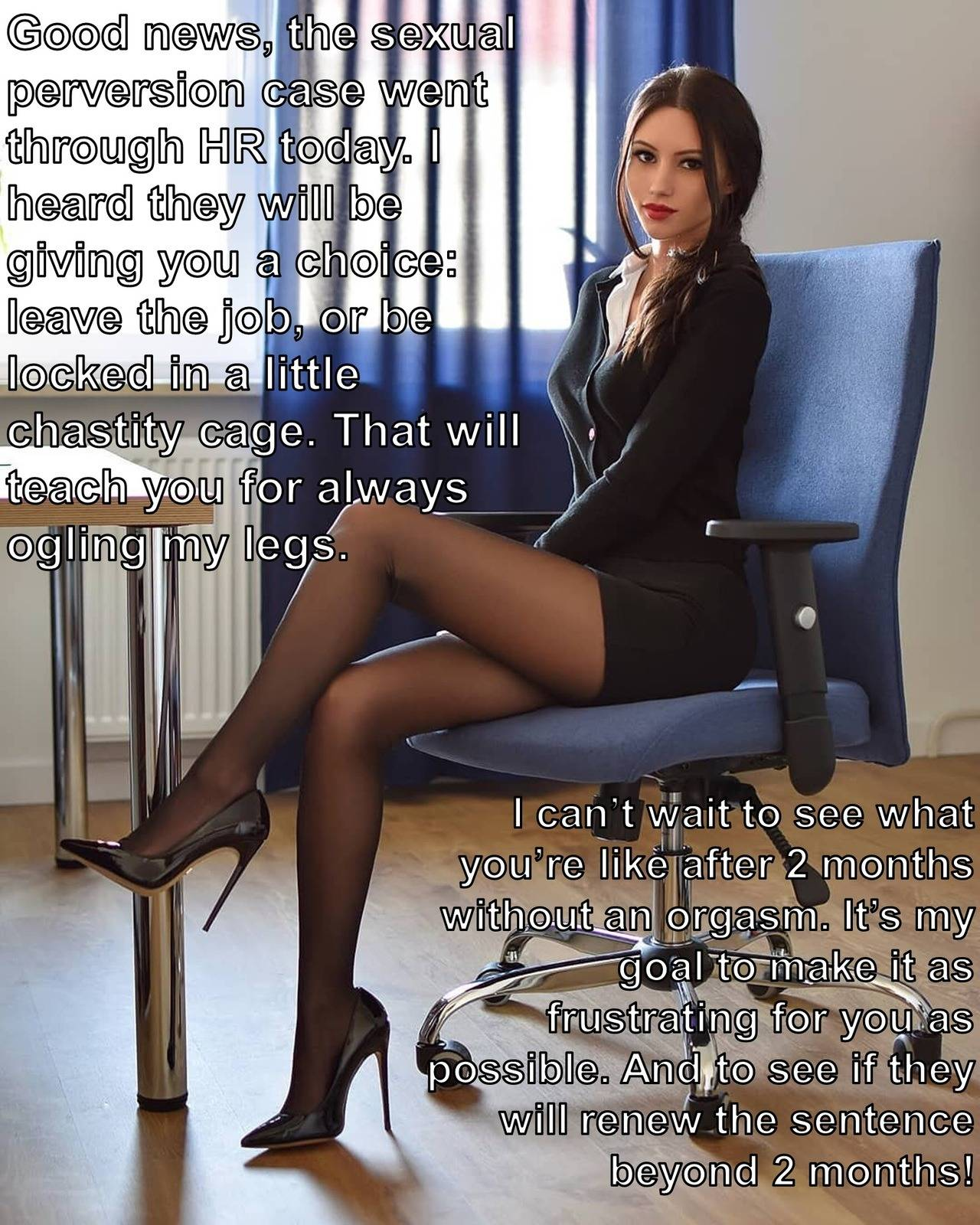 Chastity caption 79