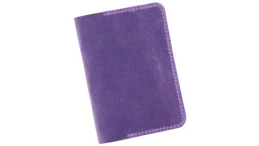 Дамская обложка для паспорта из натуральной кожи