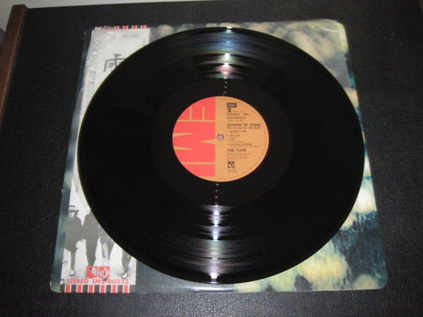 "PINK FLOYD - ""Obscured by Clouds"" Japanese import LP/Vinyl"