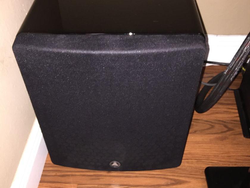 JL Audio  F110 black gloss V1 OBM