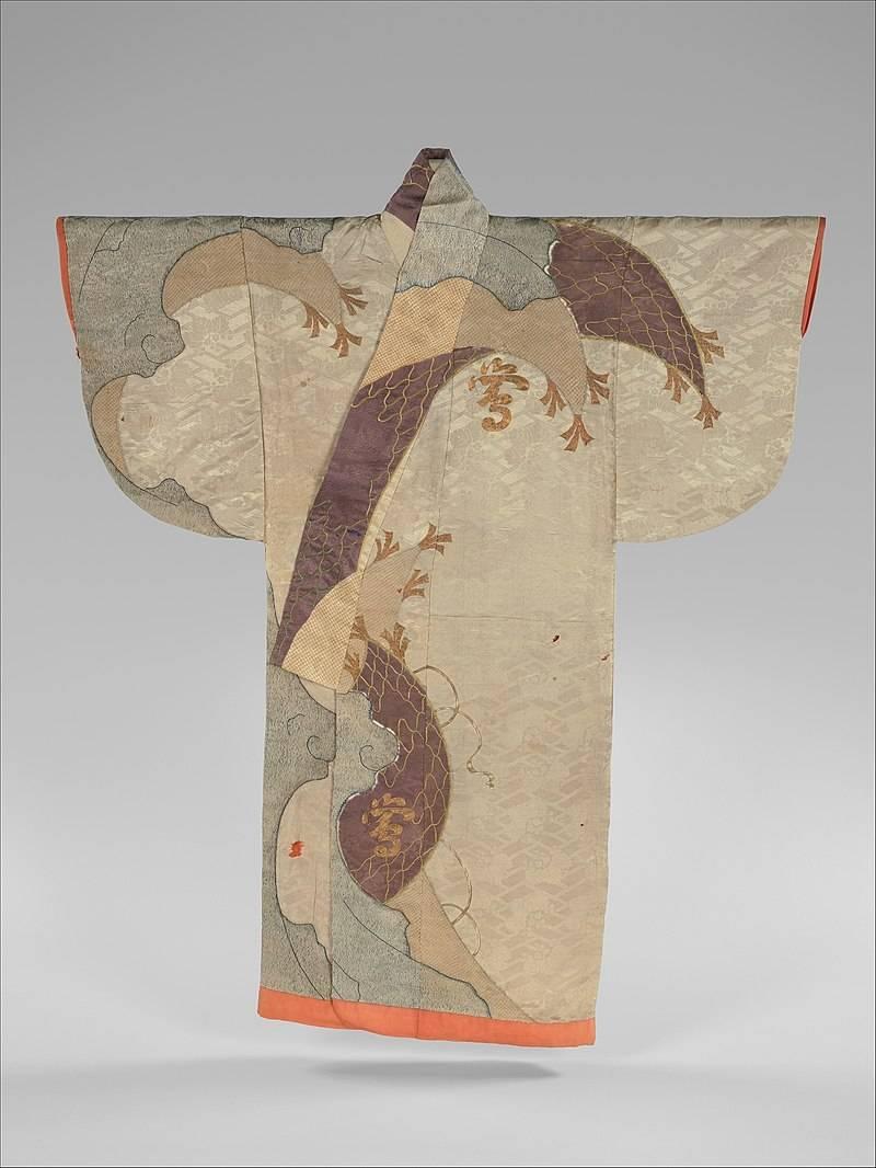 kosode robe from around 1660