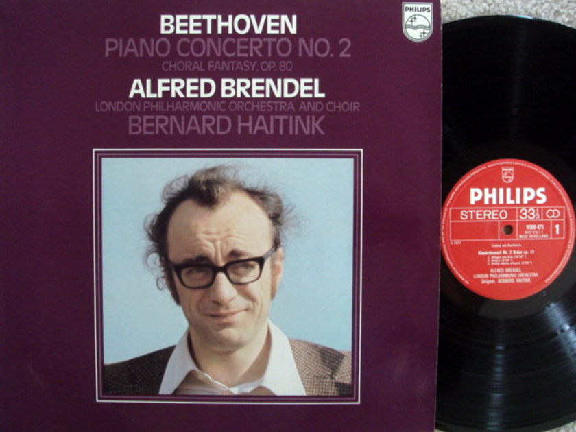 Philips / BRENDEL-HAITINK, - Beethoven Piano Concerto No.2, NM!