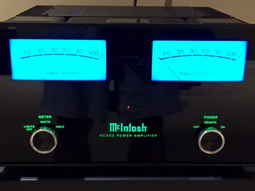 McIntosh  Handles Pair of Handles For McIntosh MC302 Amplifier