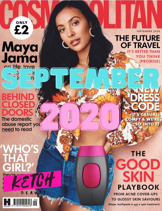 KetchBeauty Cosmopolitan Magazine