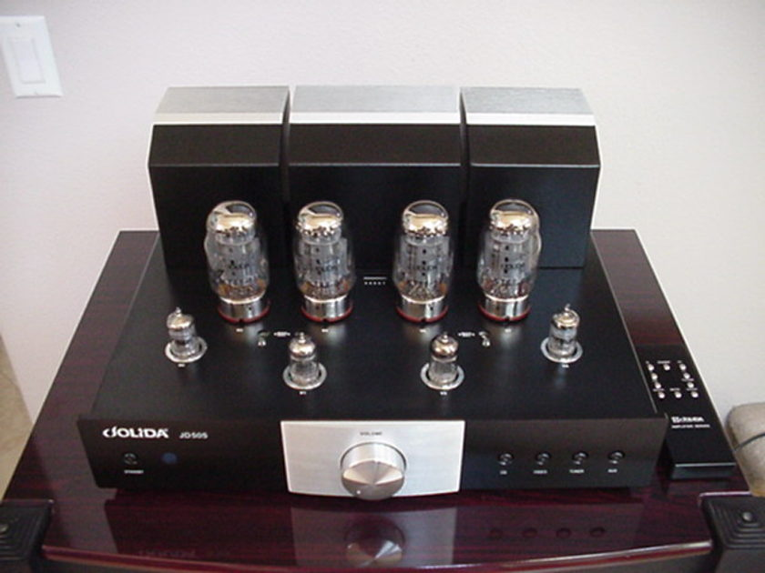Jolida JD505 Tube Integreted Amplifier