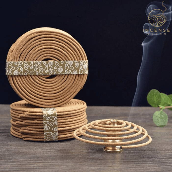 Natural Handmade Sandalwood Coils (48 box)