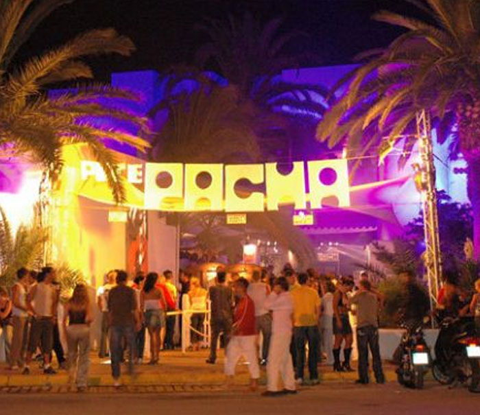 Pacha Ibiza nightclub exterior, clubbing guide Ibiza