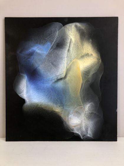 «Сияние». Картина выполнена в технике спиртовые чернила.
