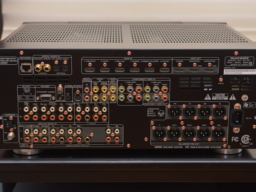 Marantz AV7005 Home Theater Processor.