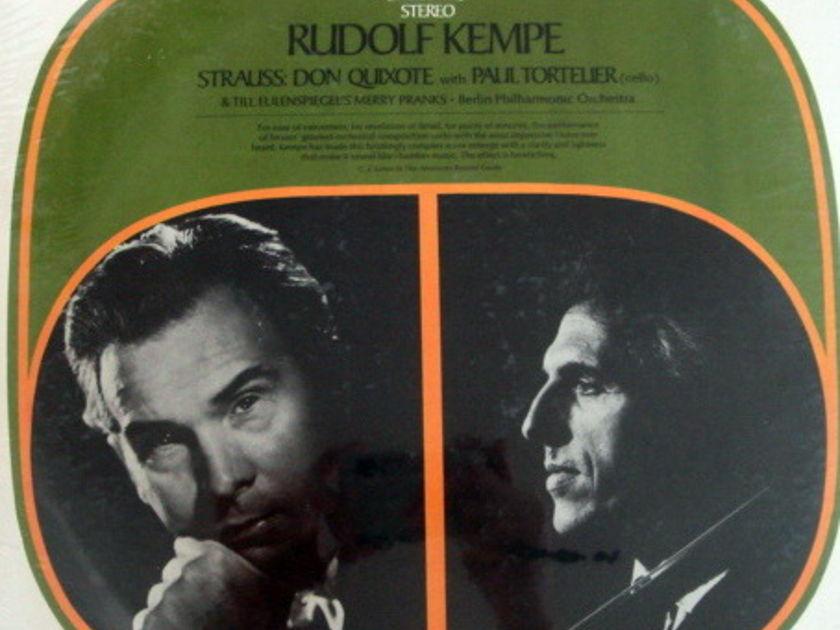 ★Sealed★ EMI SERAPHIM /  - KEMPE-TORTELIER, Strauss Don Quixote!