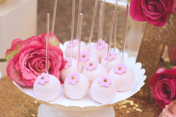 Unicorn Party Theme, Unicorn Cake Pops