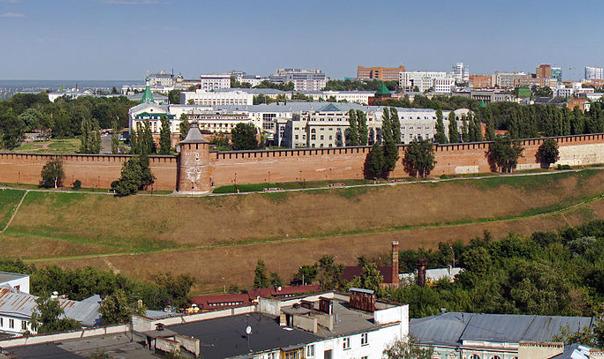 Нижегородский Кремль – сердце Нижнего.