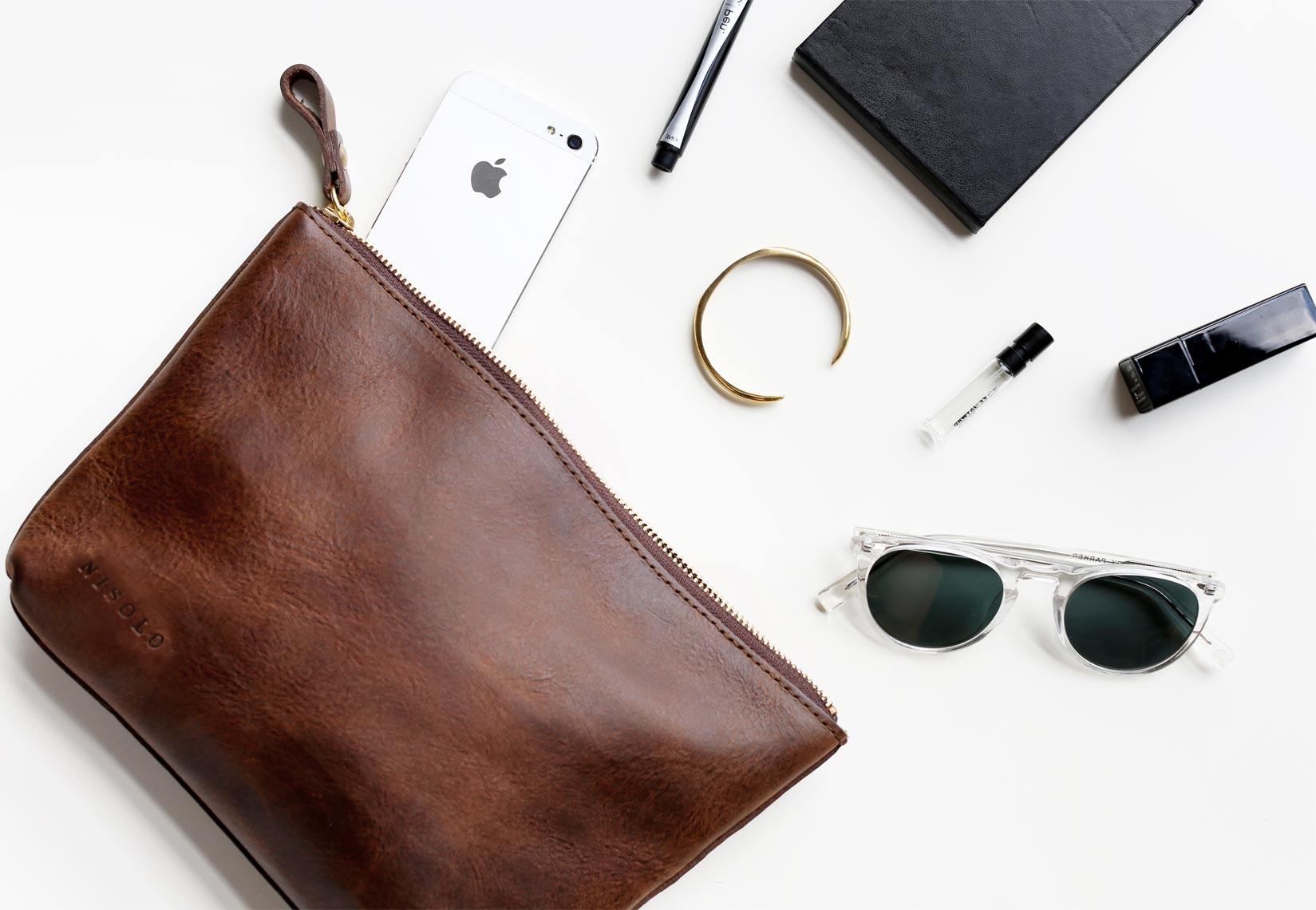 veracruz pouch leather