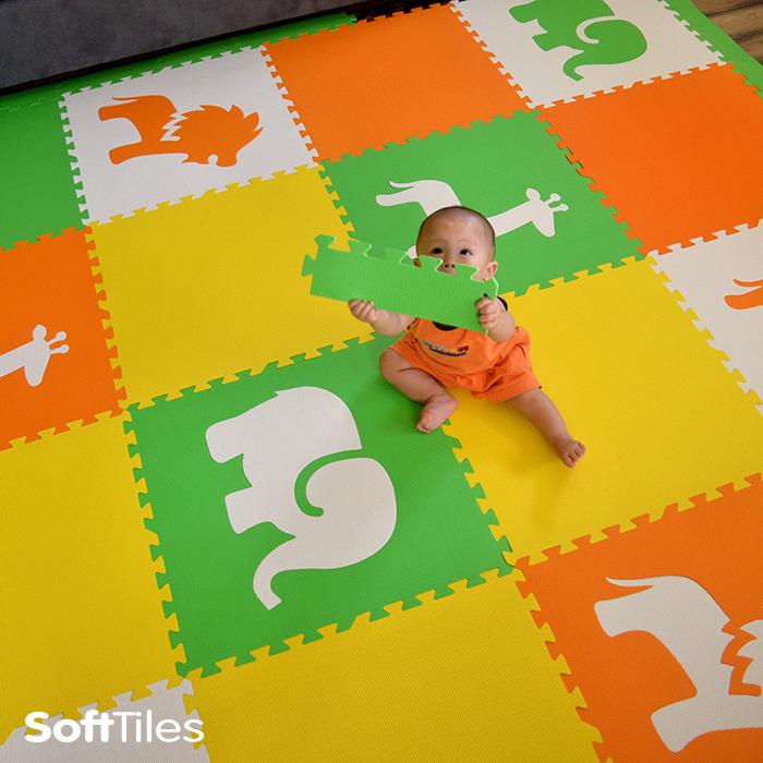 Babies Play Mat Colored Foam Mats Softtiles
